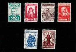 1940 MNH Mint Never Hinged Sc. 378-383, Yv. 354-359, Mi.401-406                 118 - Ungebraucht