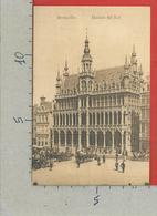 CARTOLINA NV BELGIO - BRUXELLES - Maison Du Roi - 9 X 14 - Monumenti, Edifici