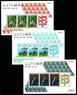 Japón Nº HB-139/41 Nuevo - Blocks & Sheetlets