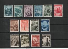 1942 MNH Mint Never Hinged Sc. 420-433, Yv. 406-419, Mi.442-455                126 - Ungebraucht