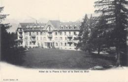 Martigny - Saxon - Hôtel De La Pierre à Voir - Dent Du Midi - VS Valais