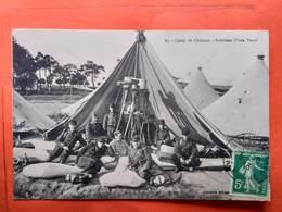 CPA (51) Camp De Châlons.Intérieur D'une Tente.  (N.879) - Camp De Châlons - Mourmelon