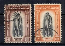 Saint-Marin YT N° 203/204 Oblitérés. B/TB. A Saisir! - San Marino