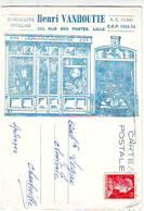 59. LILLE . CARTE PUBLICITAIRE . QUINCAILLERIE GENERALE VANHOUTTE 252 Rue Des Postes - Lille