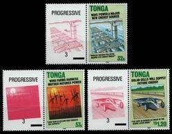 Tonga 1990 - Mi-Nr. 1119-1122 ** - MNH - Paare - Alternative Energiequellen - Tonga (1970-...)