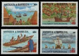 Antigua 1988 - Mi-Nr. 1146-1149 ** - MNH - Schiffe / Ships - Antigua Und Barbuda (1981-...)