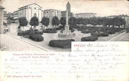 Arezzo - Piazza Del Popolo, Monumento Ai Caduti (1903) - Arezzo