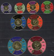 BURUNDI - 1965 - Coins Of Various Denominations - STEMMI ED EFFIGI - NUOVI - 1962-69: Nuovi