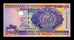 Vanuatu 200 Vatu 1995 Pick 8b Serie BB SC UNC - Vanuatu