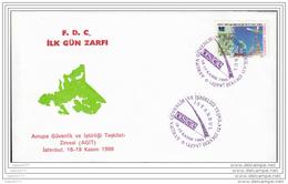 B-0043 AGIT OSCE ISTANBUL F.D.C. - Lettres & Documents