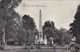 Cpa Indonesie Indonesia Groet Uit Buitenzorg Witte Paal ( Pabaton ) Tio Tek Hong Weltevreden 1911 - Indonésie