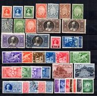 Vatican Belle Collection D'anciens Neufs Et Oblitérés 1929/1949. Bonnes Valeurs. B/TB. A Saisir! - Collections