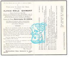 DP Lid Vd Bib En Vh Muziek En Rode Kruis - Alfred Gaimant ° Ieper 1894 † 1946 XDe Clercq / Anker Pat Schellinck Dauchot - Devotion Images