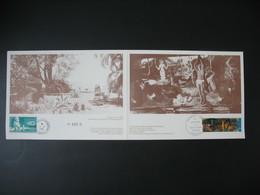 Polynésie Française  1985  XXè Anniversaire Du Musée Gauguin   N° PA 12 Et PA 186   N° 405 B - Polinesia Francese