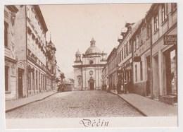 CZECH REPUBLIC - AK 375297 Decin - MODERN REPRODUCTION CARD - República Checa
