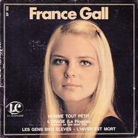 FRANCE GALL - EP - 45T - Disque Vinyle - L'homme Tout Petit - 102 - Vinyles