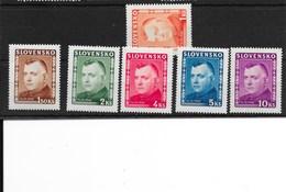 1945 - Y Et T N° 122 à 127, Tous ** ( M.N.H.) - Mi 156 à 161 - Trés Trés BEAU - Nuovi