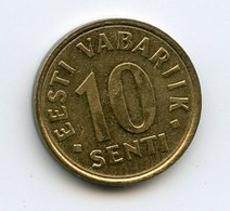 Estonia 1998. 10 Sent - Estland