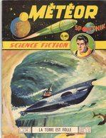 METEOR SPOUTNIK N° 76 MENSUEL PUBLICATION ARTIMA OCTOBRE 1960 LA TERRE EST FOLLE - AVENTURE SCIENCE FICTION GALAXIE - Meteor