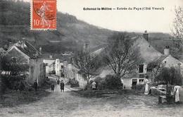 ECHENOZ-la-MELINE (Haute-Saône) - Entrée Du Pays (Côté Vesoul) - Edition Raguin. Circulée En 1910. Bon état. - France