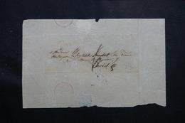 """FRANCE - Marque Postale """" 20 ST SEINE """"  Sur Lettre Sans Texte Pour Paris En 1828 - L 55857 - 1801-1848: Precursors XIX"""