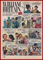William Britain. Fondateur De La Société De Figurines Britains: Soldats De Plomb,animaux ... Bande Dessinée De 1964. - Documenti Storici