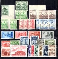 Belgique Petite Collection Neufs ** MNH 1950/1955. Bonnes Valeurs. TB. A Saisir! - Belgio