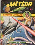 METEOR N° 88 MENSUEL PUBLICATION ARTIMA AOÛT 1960 LA REINE DU COSMOS - AVENTURE SCIENCE FICTION GALAXIE - Meteor