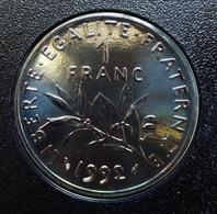 1 Franc SEMEUSE De 1992 En SPL... - H. 1 Franc
