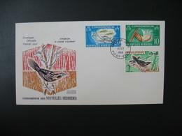 FDC Nouvelles-Hébrides  1968  N° 273 à 275 - FDC