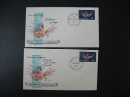 FDC Nouvelles-Hébrides  1967  N° 217 Et 265 - FDC