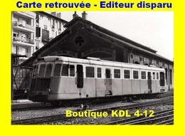 BVA 610-02 - Autorail Renault ABH N° ZZ 12 Au Dépôt - NICE - Alpes Maritimes - CP - Ferrovie – Stazione