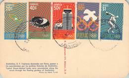 MEXICO - 6 PICTURE POSTCARD 1968 OLYMPICS /ak546 - Mexico