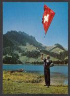 109529/ PLANFAYON, Lac Noir, Schwarzsee, Lanceur De Drapeau - FR Fribourg