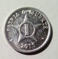 Cuba 2015 KM#33.3 UN CENTAVO 1 Centavos Regular AUNC - Cuba
