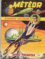 METEOR N° 91 MENSUEL PUBLICATION ARTIMA NOVEMBRE 1960 CITES VOLANTES - AVENTURE SCIENCE FICTION GALAXIE - Meteor