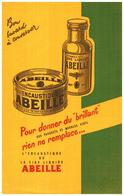 "Ci A/Buvard Encaustique ""Abeille"" (N= 1) - Carte Assorbenti"