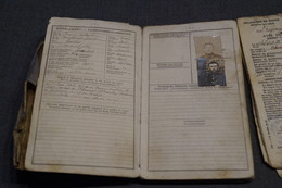 Ancien Livret De Mobilisation 14-18,Grimart Georges Antoine,né à Gosselies En 1872,avec Photo - 1914-18