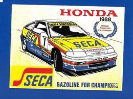 A.C. HONDA 1988 SECA - Pegatinas