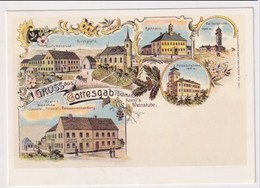 CZECH REPUBLIC - AK 375400 Bozi Dar - MODERN REPRODUCTION CARD - República Checa