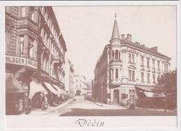 CZECH REPUBLIC - AK 375405 Decin - MODERN REPRODUCTION CARD - República Checa