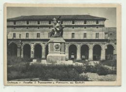 AVERSA - SCUOLA S.FRANCESCO E MONUMENTO AI CADUTI - NV  FG - Aversa
