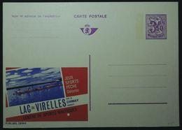 Publibel 2599 F Lac De Virelles Chimay Jeux, Sport Nautiques, Pêche - Ganzsachen