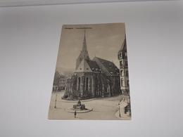 Ansichtskarte--424-276-Stuttgart-Leonhardskirche--1909-gelaufen - Stuttgart