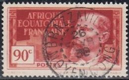 Afrique Equatoriale Française - Brazzaville / Moyen Congo Sur N° 50 (YT) N° 47 (AM). Oblitération. - Usados