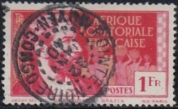 Afrique Equatoriale Française - Pointe Noire / Moyen Congo Sur N° 52 (YT) N° 60 (AM). Oblitération. - Usados