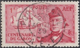 Afrique Equatoriale Française - Port-Gentil / AEF Sur N° 67 (YT) N° 67 (AM). Oblitération De 1939. - Usados