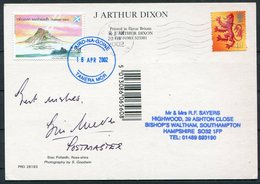 2002 GB Scotland, Summer Islands Postcard. Postmaster Signed - Local Issues
