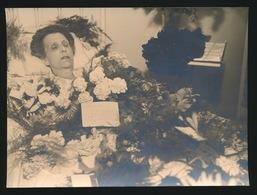 FOTO MORTUAIRE   18 X 12 Cm - Anonyme Personen
