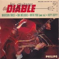 Les GUITARES Du DIABLE - EP - 45T - Disque Vinyle - Madison Twist - 424287 - Instrumental